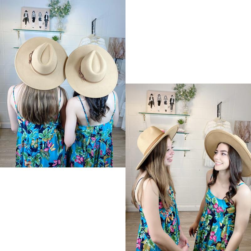 Sunset Nights Wide Brim Panama Hat