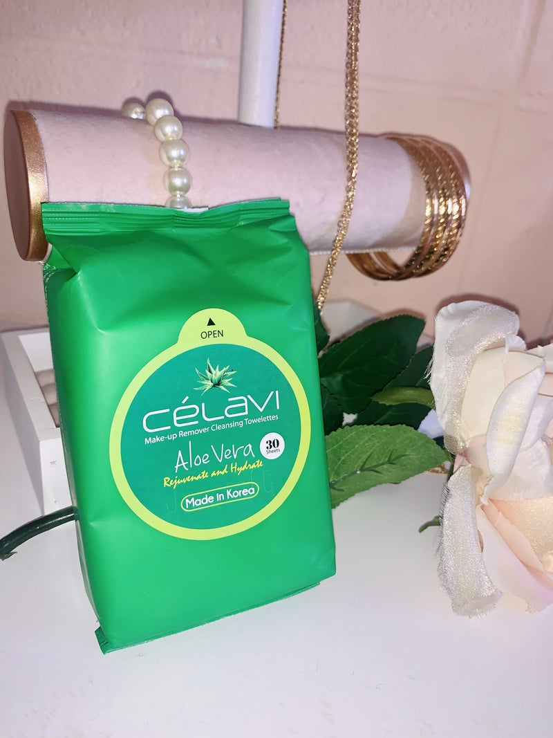 Aloe Vera Make Up Remover Cleansing Wipes
