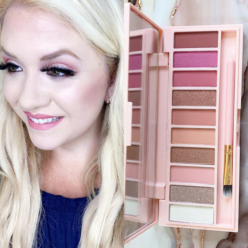 Beauty by Brittany Pretty in Pink 12 Eyeshadow Palette *Final Sale*