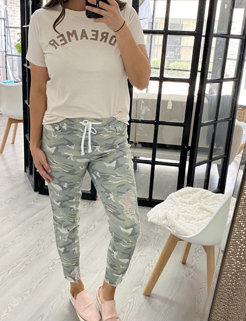 Stand Out Camo Joggers