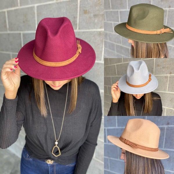Felt Fedora Hat