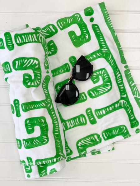 Tiki Tiki Towel