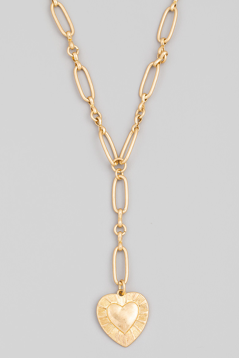 Wear Your Heart on a Chain Necklace