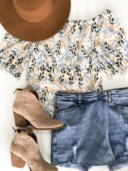Fairhope Off the Shoulder Top