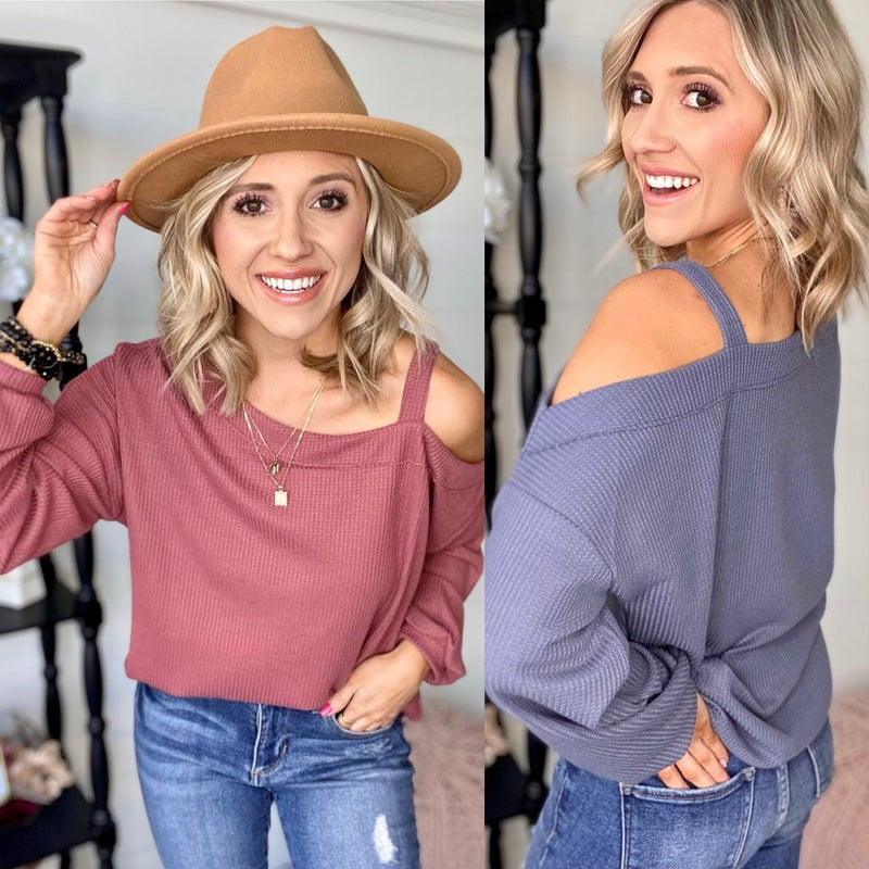 Lean With It Top | 2 Colors