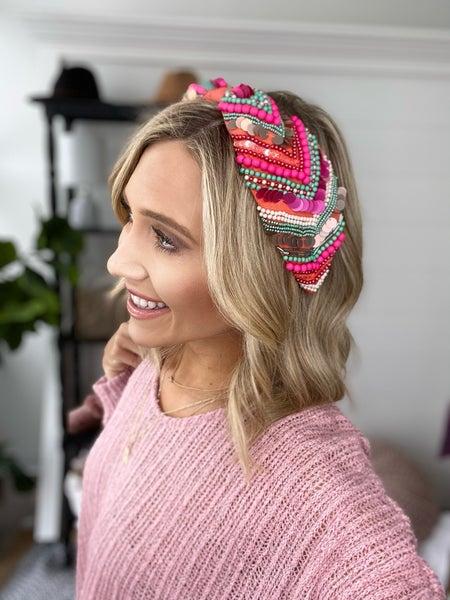 Pink Fiesta Headband