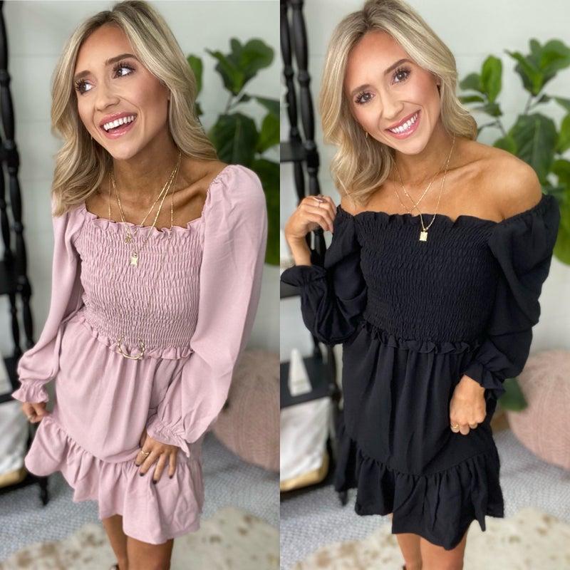 Follow Me Dress | 2 Colors