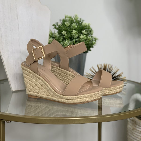 The Blissful Wedge Sandals