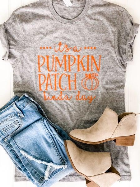 Pumpkin Patch Kinda Day Tee