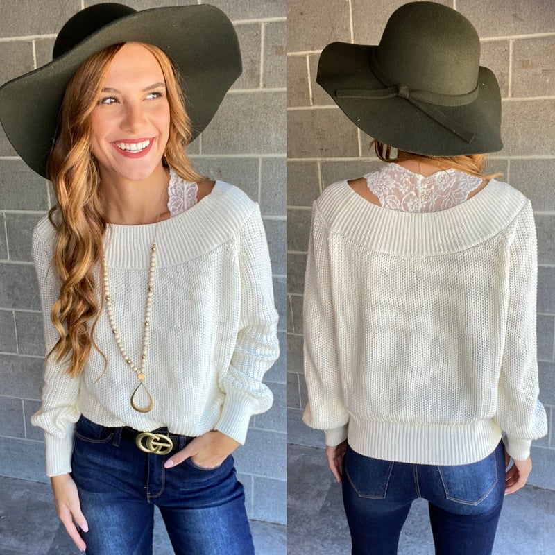 Stroll this Way Sweater