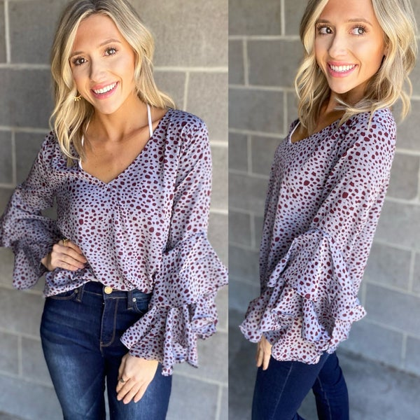 No Place Like Home Blouse