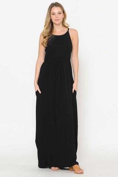 We're Squared Up Maxi Dress