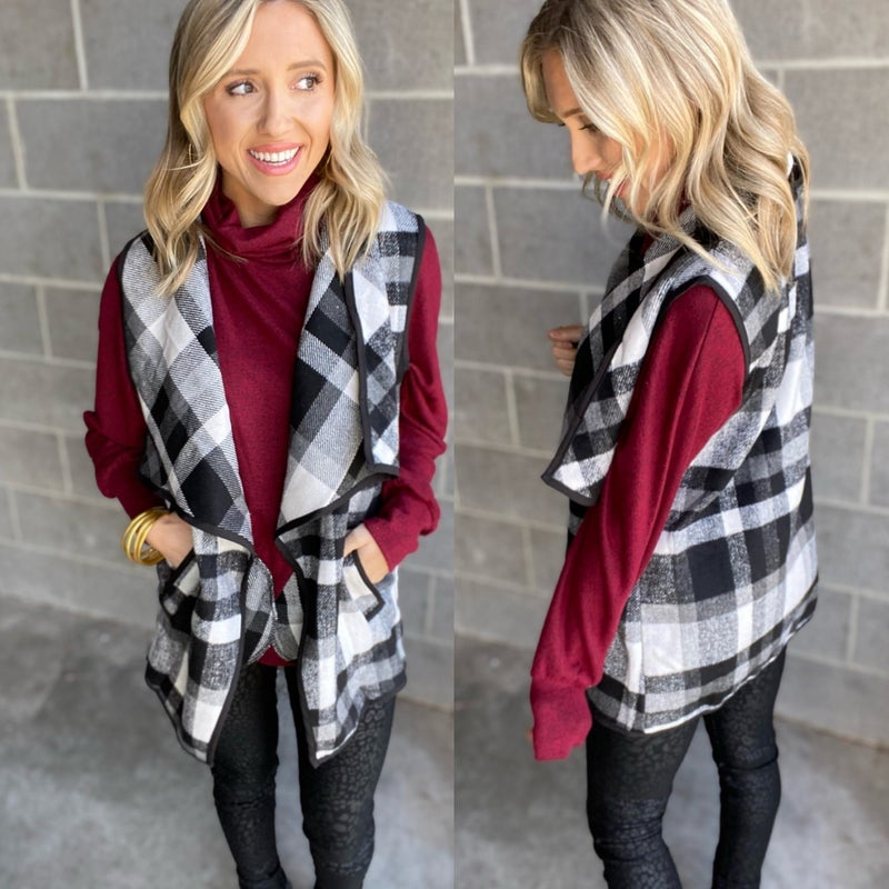 Home for the Holidays Vest