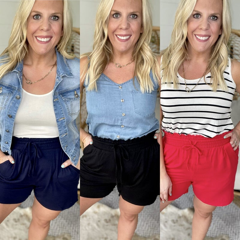 High Expectations Shorts | 3 Colors