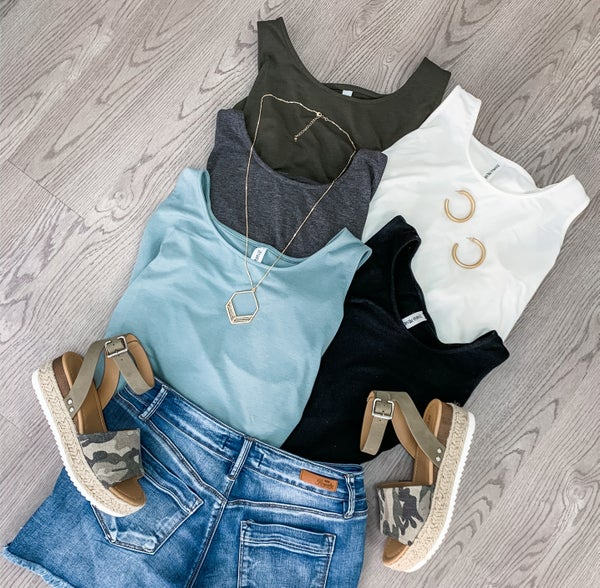 Must Have Tank - Earth Tones