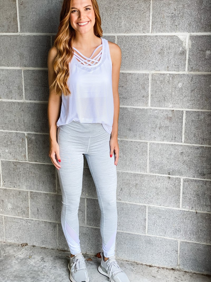 You're Worth The Wait Athletic Leggings