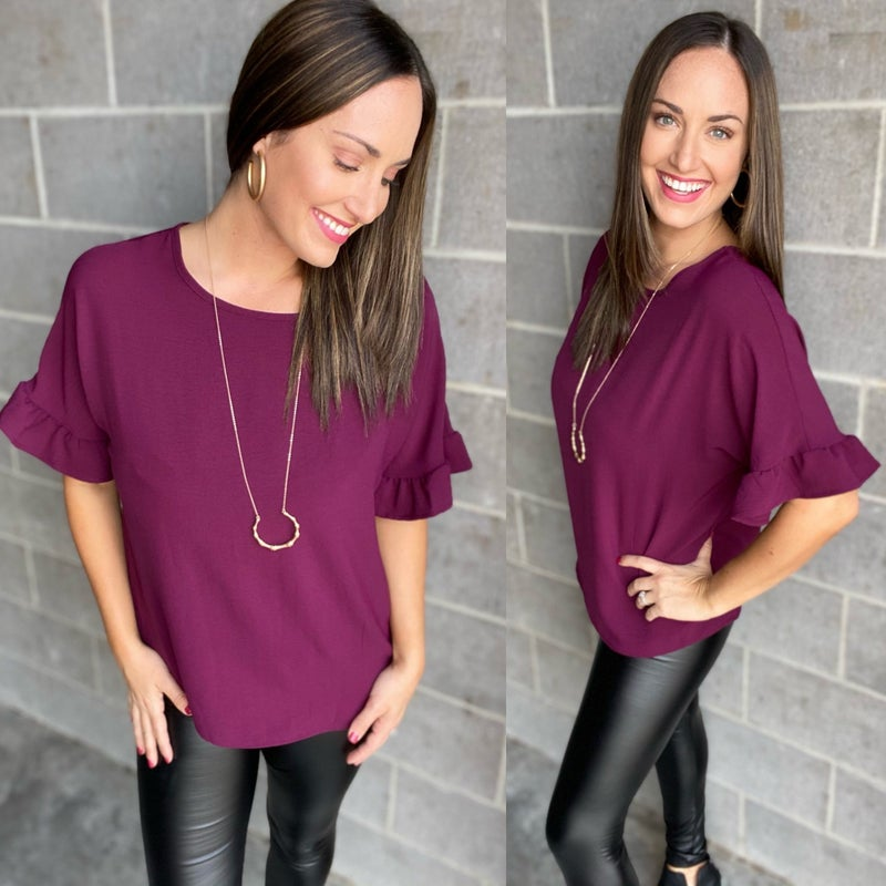Favorite Day Top | WINE & MOCHA