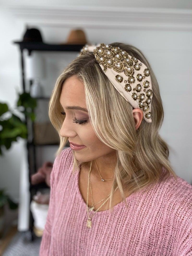 Adriana Headband   2 Colors