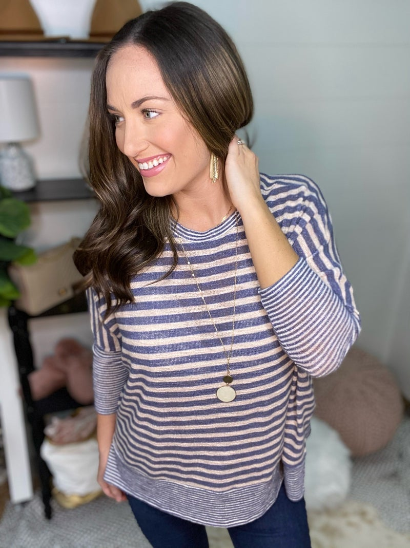 All The Stripes Top