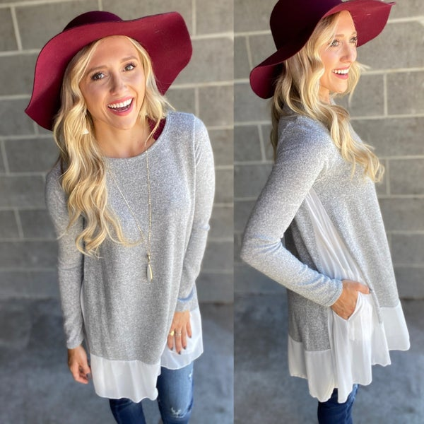 Sweater Brushed Tunic