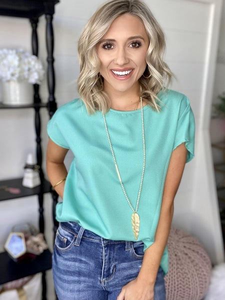 Not Even Close to Basic Top | Spring Colors