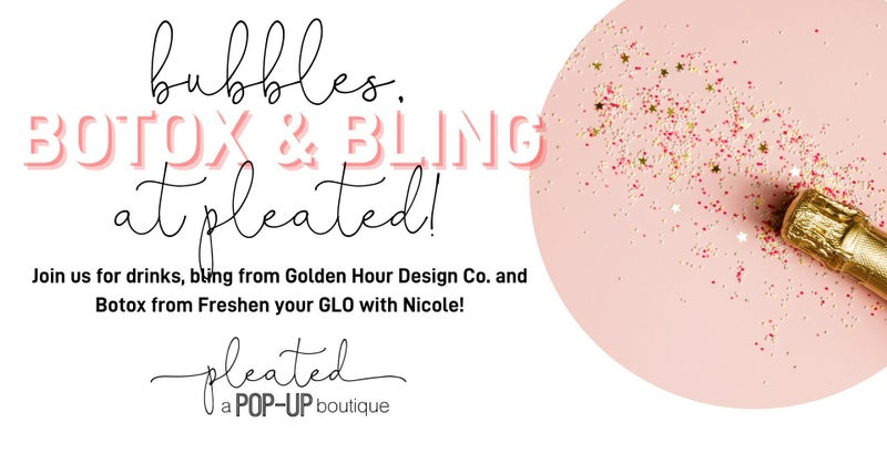 Bubbles, Botox and Bling Event Ticket