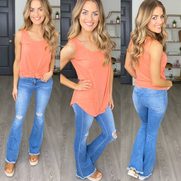 A Little Flare Denim