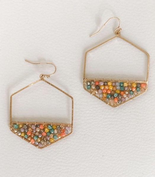 Gumball Hexi Earrings
