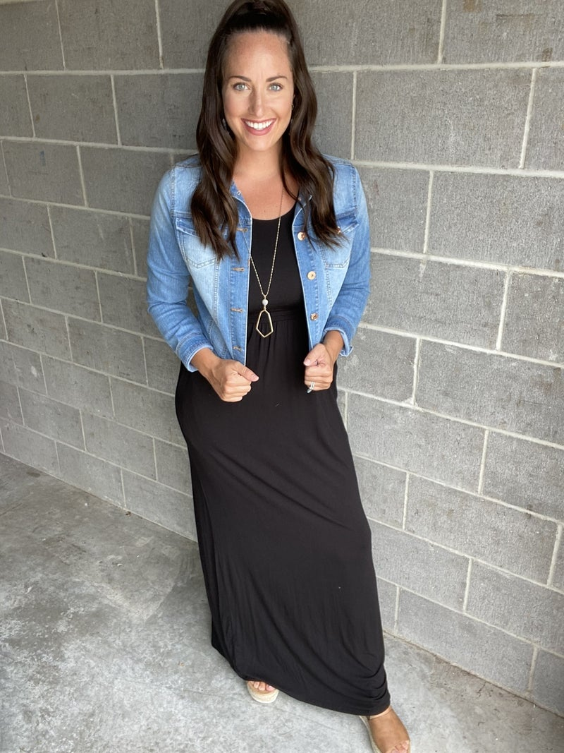 Set For Style Maxi Dress