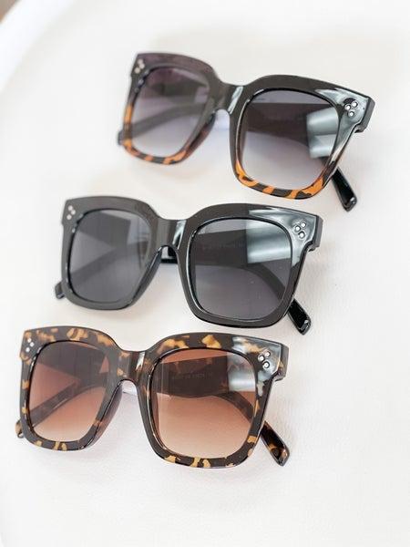 The Josie Sunglasses   3 Colors