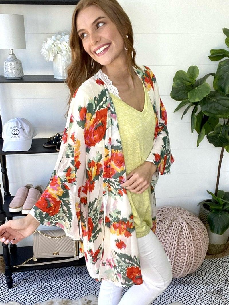 Blooming Babe Kimono