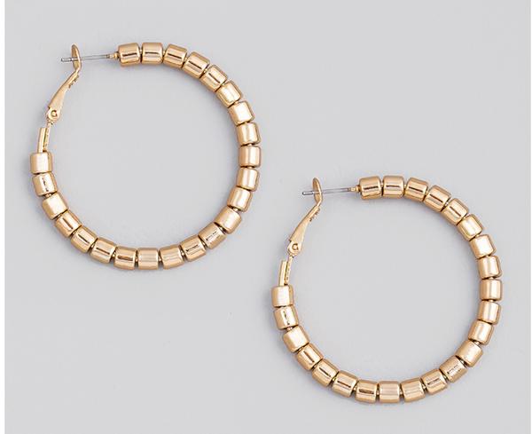 Bead by Bead Earrings | 2 Colors