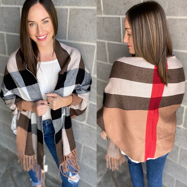 Brrr and Berry Poncho