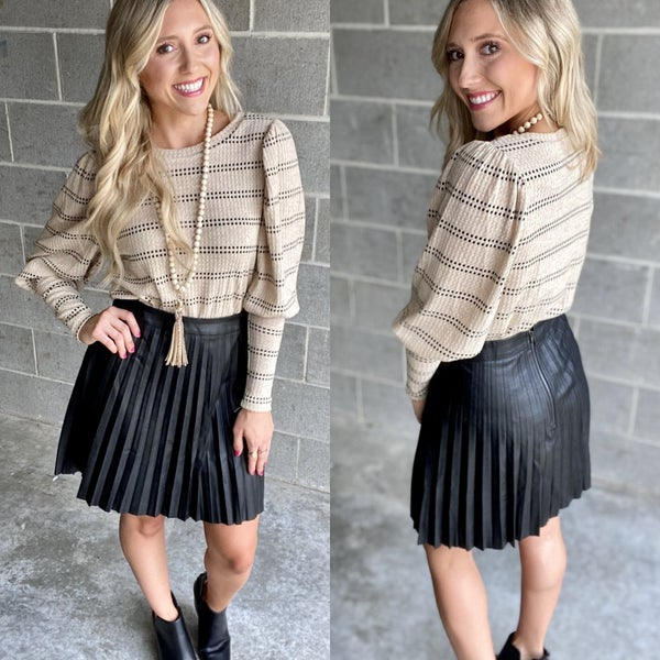 Pleated Pretty Skirt