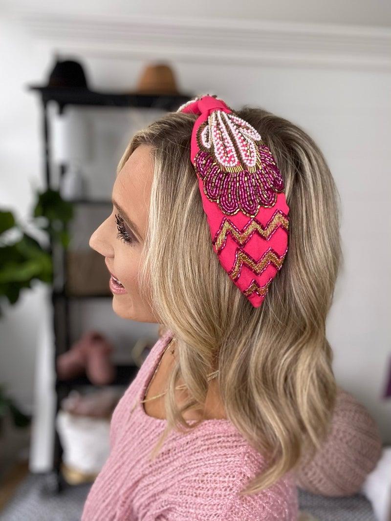 Paisley Floral Headband