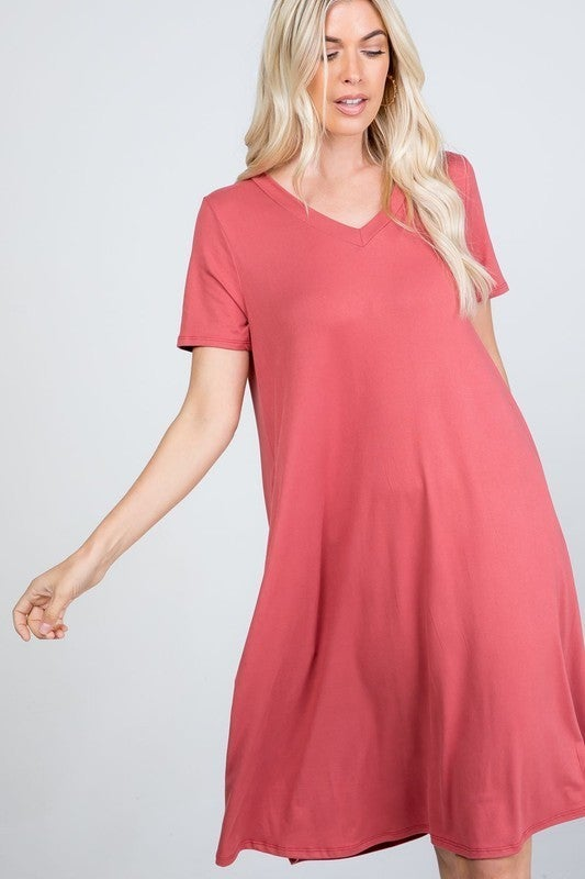Straight to the Point Dress | 4 Colors