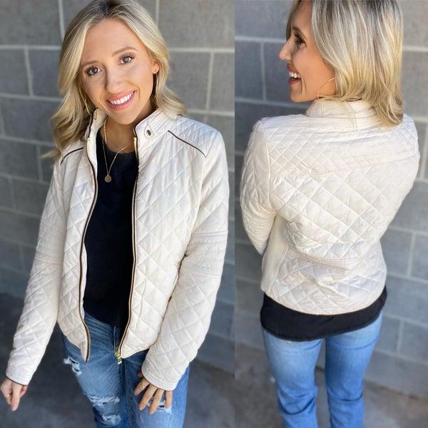 The Lauren Quilted Jacket