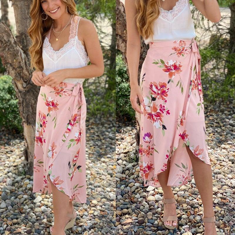 Dancing in Flower Fields Skirt