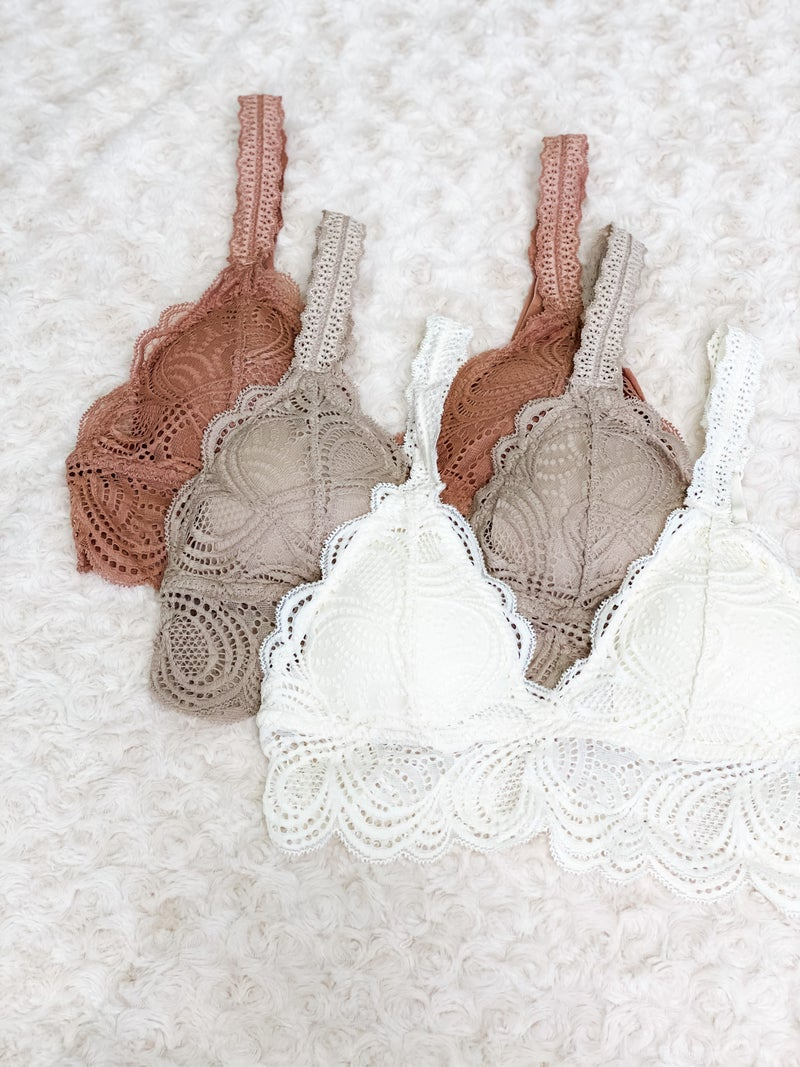 All Lace Bralette
