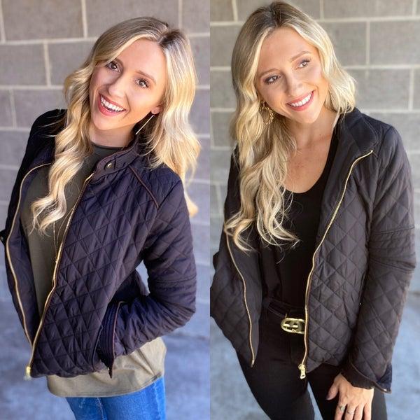 Lauren Lightweight Quilted Jacket