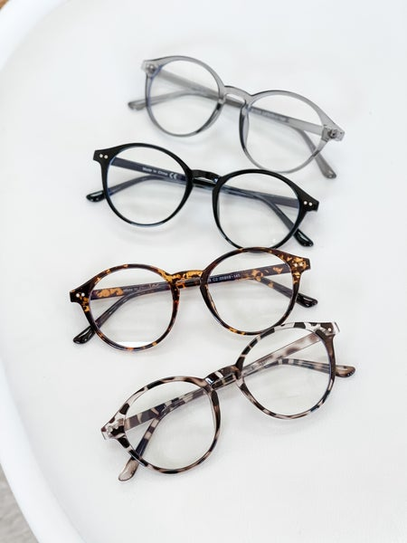 I Can See Clearly Now Glasses | 4 Colors