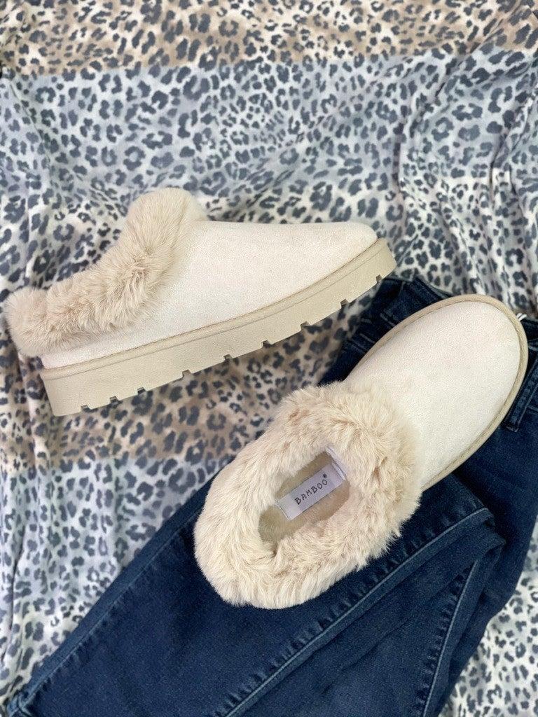 Let it Go Fur Slip Ons