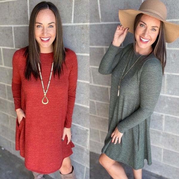 Shifting Seasons Dress