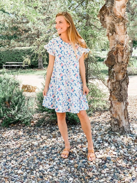 Daisy Doll Tiered Floral Dress