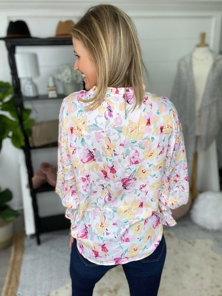 Smell The Flowers Blouse