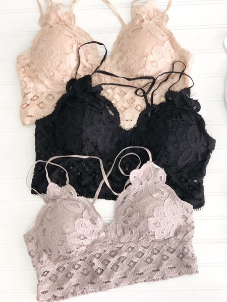 Loving Myself -Lace Bralette (Plus)