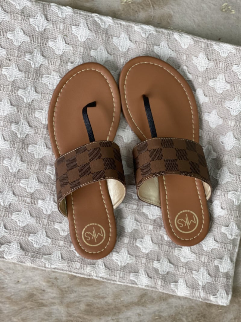 Checkmate Sandals | 2 Colors