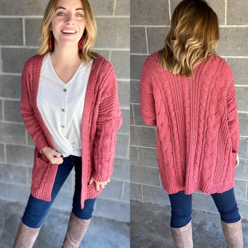Softest Ever Chunky Knit Cardigan