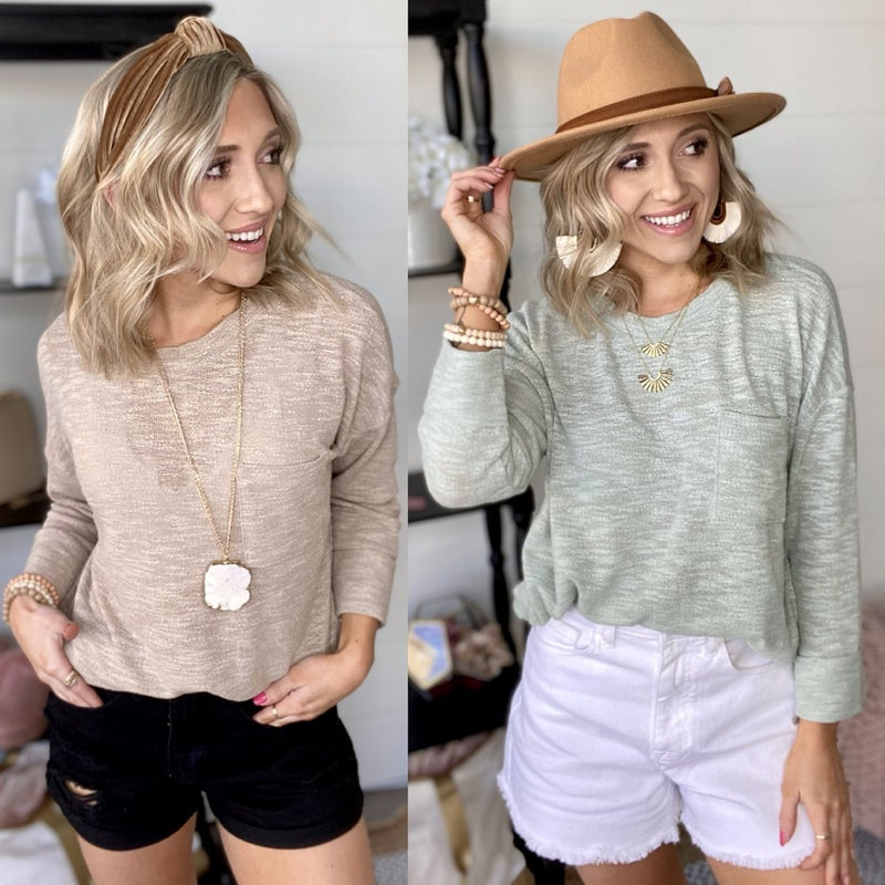 Seriously Spring Top