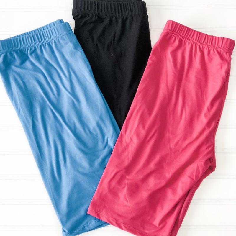 Step into Summer Biker Shorts
